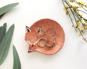Ringbowl | Jewelry Holder | Fox | Jewelry Bowl | Interior Decoration