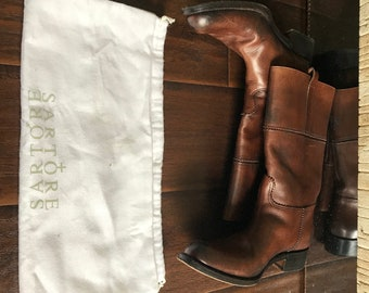 Vintage Sartore Leather Boot