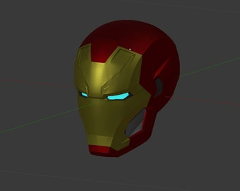 Iron Man MK 46 / 47 3D print helmet files