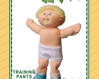 Training Pants Pattern for your Cabbage Patch Kids {Download, Print, Sew}
