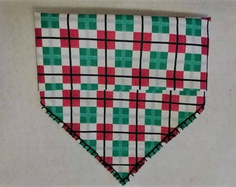 Checker's Christmas Bandana