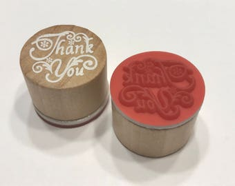 Thank You Rubber Stamp, 23 mm (BB1/1)