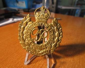 WWII British Army Corps Of Royal Engineers KK1940 Cap Badge #1798