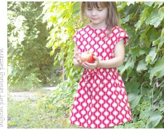 Rose Dress - Sizes 2 to 10 - digital pdf sewing pattern