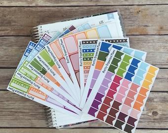 Multicolor Sticker Bundle || 261 Planner Stickers
