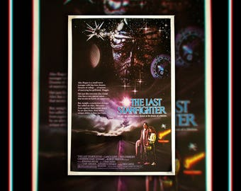 The LAST STARFIGHTER (1984) Very Rare 27x40 Rolled US One Sheet Movie Poster Original Vintage Collectible