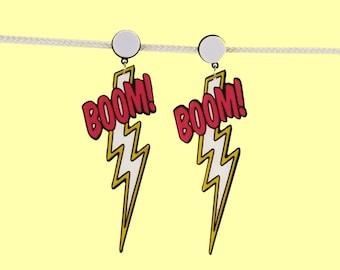 Boom Me Lightning Earrings