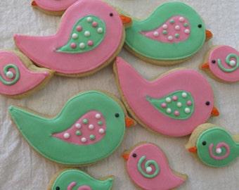 Birdie Cookie Assortment (2 dozen of each)