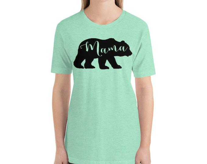 Mama Bear Funny Shirt, Gift for Mom, Gift for Her, Mama Shirt, Mom Life Shirt, Bear Shirt