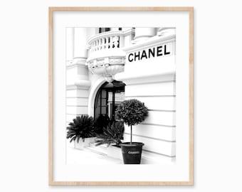 Chanel Print • Chanel Poster • Chanel Fashion • Chanel Decor • Fashion Print • Coco Chanel Wall Art • Minimalist • Chanel wall decor