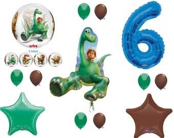 The Good Dinosaur 6th Happy Birthday Party Balloons Decoration Arlo Spot