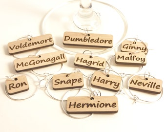 Harry Potter - Wine Glass Charms