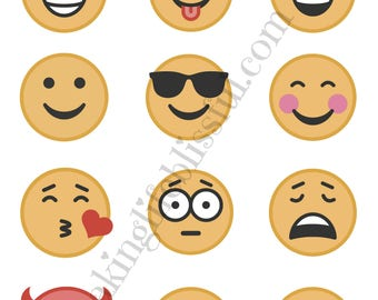 Emoji Printable Activity Party Pack