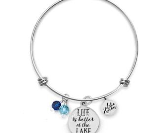 Lake Huron Bracelet | Custom Lake Bracelets | Vacation Bracelets | Travel Bracelets