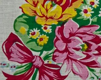 Large Vintage Handkerchief