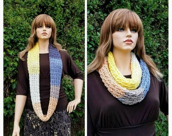 Crochet Simply Infinity Crochet Scarf Wrap Crochet Pattern DIGITAL DOWNLOAD ONLY