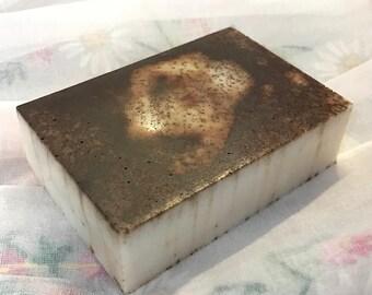 Jasmine and Vanilla Body Bar made with Goat's Milk Soap and Cinnamon (4oz bar)