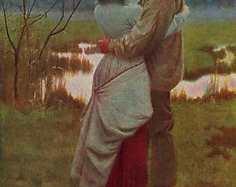 "William Henry Gore 1885 Oil Painting ""Listed"" Vintage Classic Artwork 1930 Portraits Landscape Book Print"