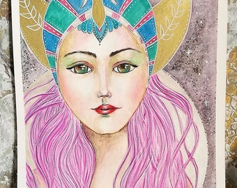 Original Painting : Divine Goddess
