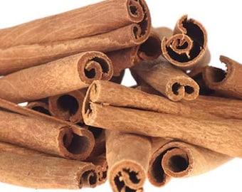 Korintje Cassia Cinnamon Sticks - 6 Inch - Certified Organic