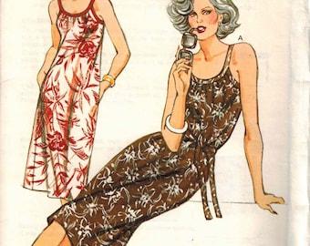 Kwik Sew 1070 Ladies Sund dress cover up Sizes 6-8-10-12 OOP HTF Uncut