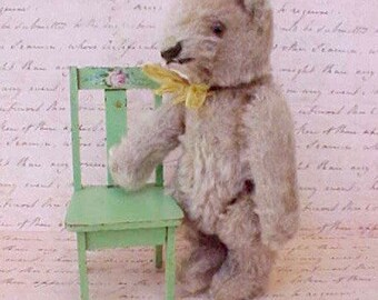 Adorable Little Antique Mohair Teddy Bear