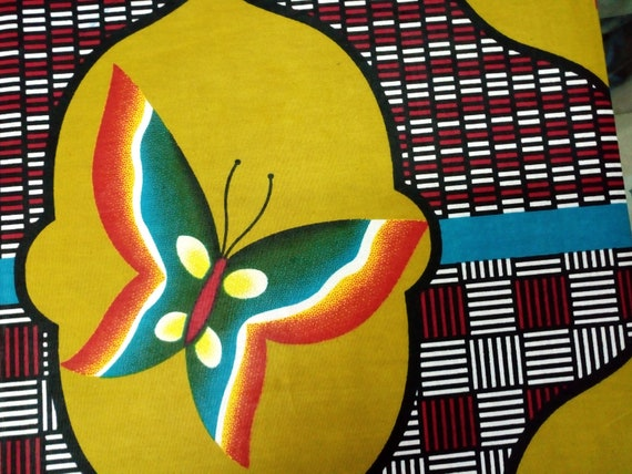 African butterfly fabric,African women clothing,African fabric ...