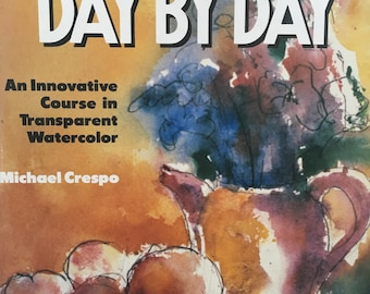 Vintage Innovative Course in Watercolor Painting 1987 Hardbound Watercolor Painting Book