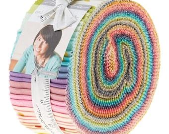 Confetti Ombre - Jelly Roll par Vanessa Christenson V and Co pour les tissus Moda