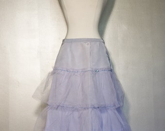 Purple Crinoline Half Slip Petty Coat