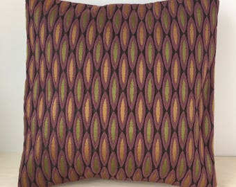 Purple & Olive Pillow Covers