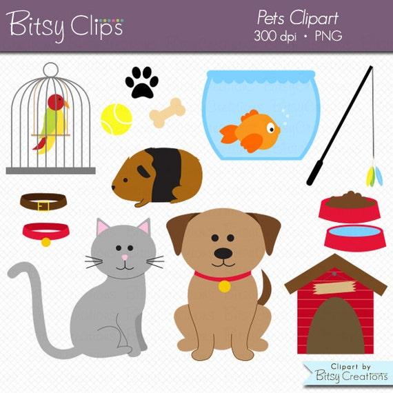 pets clipart commercial use clip art instant download digital rh etsy com pet clip art free pet clip art free