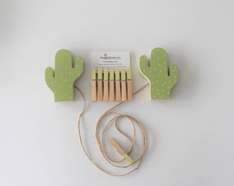 Cactus Art Display Line, Cactus Art Cable, Succulent Decor, Picture Line, Cactus Art Display, Cactus Baby, Cactus Toddler, Cactus Teen