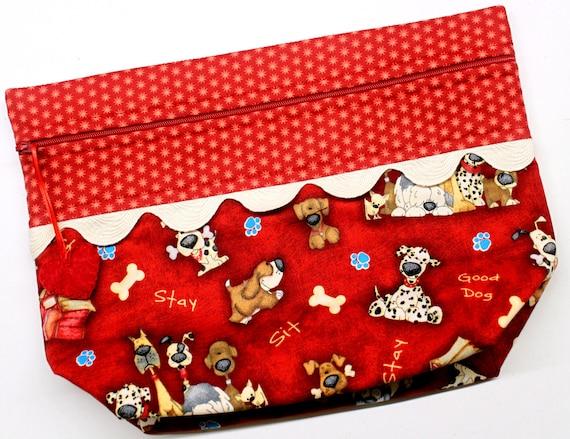 Lil' Big Bottom Good Dog Cross Stitch Bag