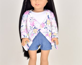 Loose Cardigan 18 inch doll clothes