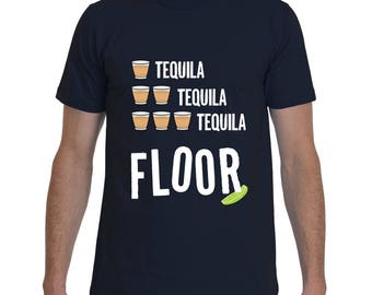 DRINKING SHIRT | Tequila Shirt | Funny Shirts | Party Shirt | Funny Tees | Badass T-Shirt by Badass T-Shirt Co.