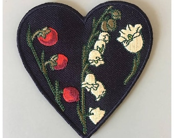 Lily of the Valley Embroidered Patch