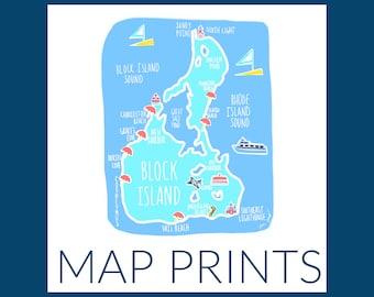 Coastal Maps