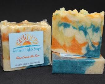 Here Comes the Sun Hot Process Soap