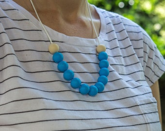 Silicone Necklace 00011110 | Breastfeeding Necklace | Baby Shower || Sale