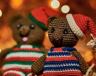 Christmas bears.