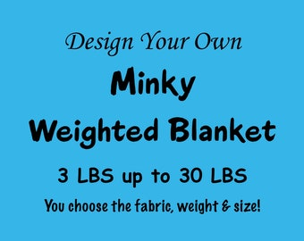Design Your Own Weighted Blanket, Weighted Blanket Adult, Weighted Blanket Child, Therapy Blanket, Anxiety Blanket, Sensory Blanket, Autism