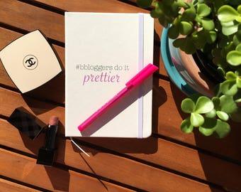 Beauty Blogger Notebook | #bbloggers, blog notebook
