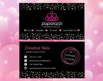 Printable Paparazzi Business Cards