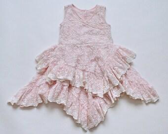 SAMPLE SALE - Felicity Dress in Blush - Size 2