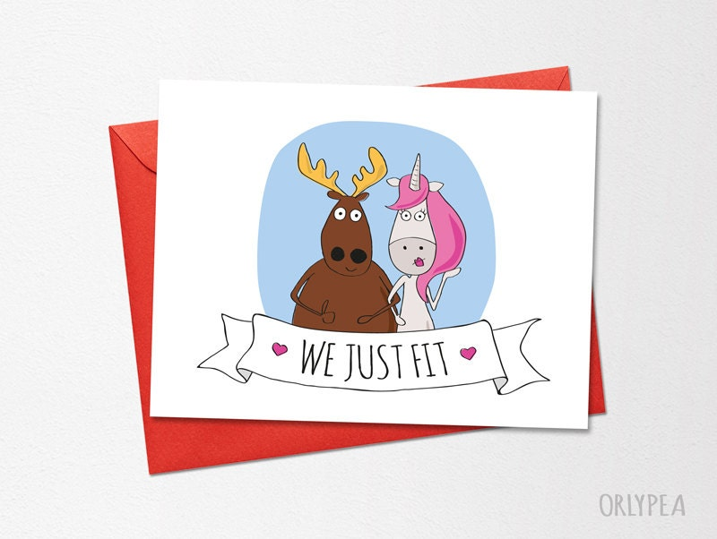 Valentines day card Funny Wedding Card Funny Love Card