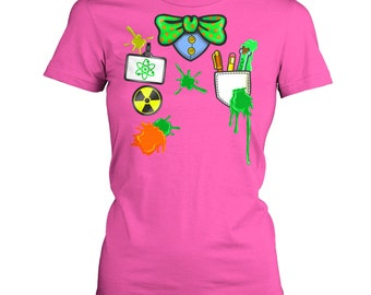 Mad Scientist Costume women's t-shirt