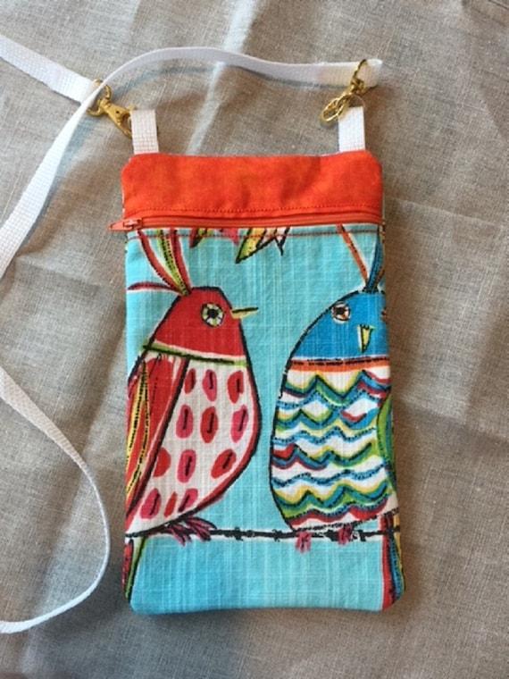 Crazy Birds Small Cross-Body Bag