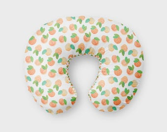 Sweet Peach Nursing Pillow Cover, Girl Nursing Cover, Nursing Pillow Cover Peaches, Minky Nursing Pillow Cover, Georgia Peach Boppy Cover