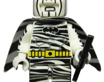 Zebra Batman (LEGO Compatible)